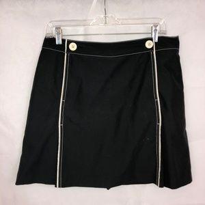 Womens Skort IZOD black/white x-tra dry sz 10